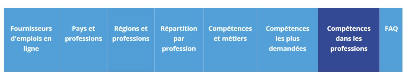 tableau compétences